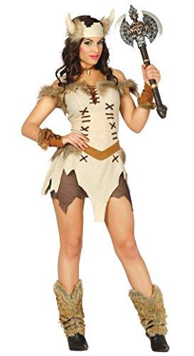 KOSTÜM - WIKINGERIN - Größe 42-44 - Frauen Kostüme Wikinger