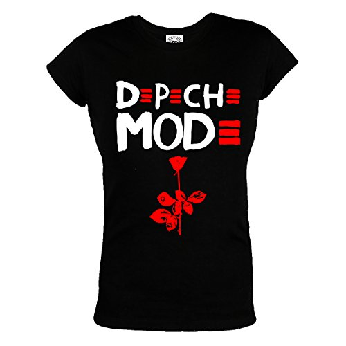Rule Out Women T-Shirt. Depeche Mode. Violator Rock Band. Depeche Fans. Casual (Größe Medium) (Damen-t-shirts Thai Baumwolle)