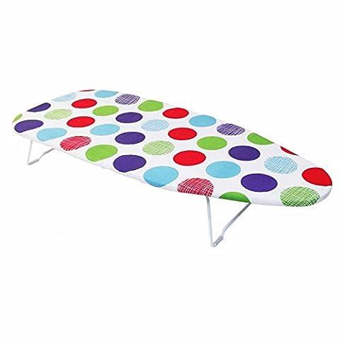 Planche à repasser de table avec plan 30x 74cm Gain de place