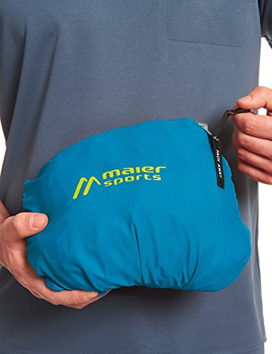 MAIER SPORTS Funktionsjacke Metor M aus 100% PES in 22 Größen, Packaway-Jacke/ Outdoor-Jacke/ Herren Jacke, wasserdicht und atmungsaktiv methyl blue