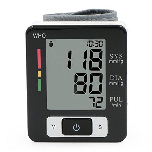 LinkHealth Elettrico Digitale Pressione Sanguigna del Polso Misure Cardiofrequenzimetro Diastolica