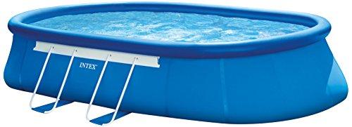 Intex Oval Frame Pool Set - Aufstellpool - 549 x 305 x 107 cm - Zubehör enthalten