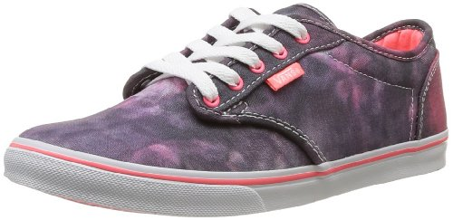 Vans W Atwood Low, Baskets mode femme Violet (Off White/Neon Coral)