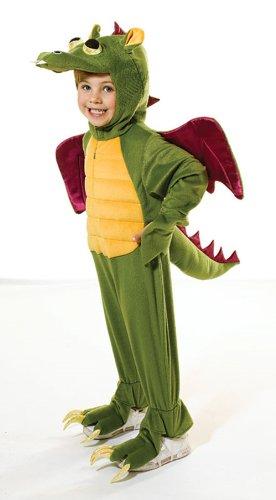 Drachen für Kinder Kostüm 128cm (ca. Alter 7-8 Jahre) (Dragon Kostüm Kinder)