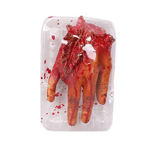 WYPS Halloween Deko gefälschte Herz Gehirn Orgel Spuk Haus Blut Horror Requisiten Trick Cosplay (A)