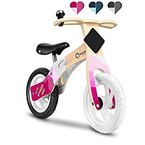 Lionelo LOE-Willy Bubblegum - Bicicleta sin Pedales