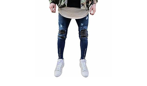 Herren Jeans Hose Destroyed Denim Vintage Jeanshose RB 157