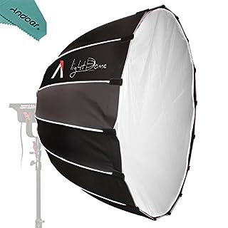 Aputure Light Dome Multi-Purpose Parabolic Lichtreflektierende Softbox mit Diffusor Bowens Halterung für Aputure Licht Sturm LS 120T 120D und andere Bowens Berg Videoleuchten