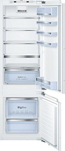 einbau kuehl gefrierkombinationen Bosch KIS87AD40 Serie 6 Kühl-Gefrier-Kombination / A+++ / 177,20 cm Höhe / 149 kWh/Jahr / 208 L Kühlteil / 61 L Gefrierteil / LED-Beleuchtung