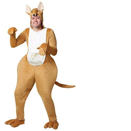 Nihiug Cos Performance Kostüm Kostüm Erwachsene Kinder Kangaroo Kleidung Australien Tier Kleidung Göttin Kostüm Miss Secret,Adult