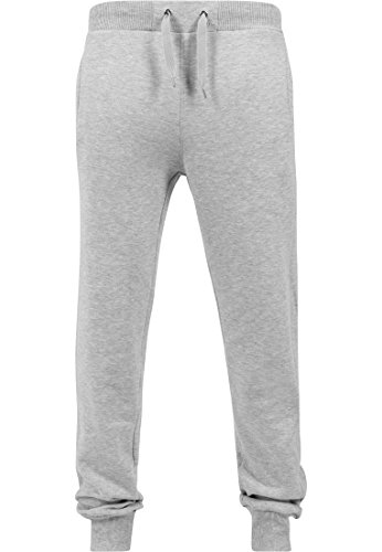 Urban Classics Herren Hose Straight Fit Sweatpants lightgry