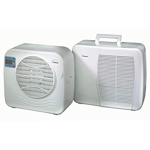 Euromac AC2400 Split System White Climatiseurs split-system, 375W, 55dB, 18,5 cm, 36cm, 39,5cm, 55dB, blanc