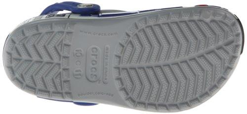 Crocs Star Wars R2D2, Sabots garçon Gris (Light Grey/Cerulean Blue)