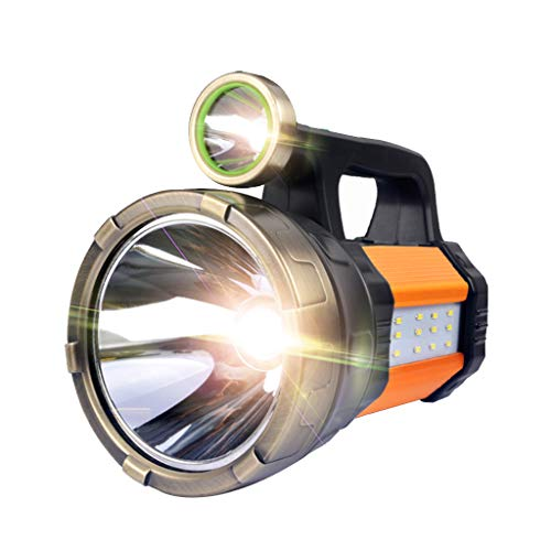 Taschenlampe Scheinwerfer , 32W Handheld Heavy Duty Camping Lichtstrahl Scheinwerfer Laterne Taschenlampe 4000 Lumen 6-20h