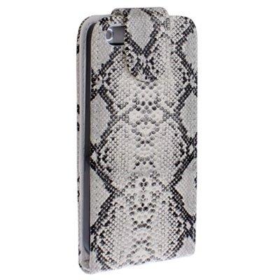 Wkae Case Cover Snakeskin Texture Ledertasche mit Kreditkartensteckplätze für iPhone 5 &5s &SE &SE ( SKU : S-IP5G-3159A ) S-IP5G-3159A