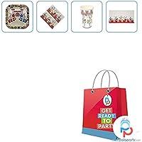 PalaParty.com - Kit per festa bambino cavalieri e draghi