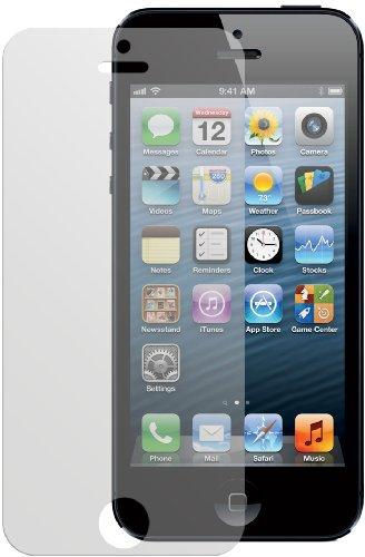 dipos I 6x Schutzfolie matt passend für Apple iPhone 5 Folie Displayschutzfolie - Phone I 5 Moshi