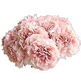 Künstliche Blumen, Unechte Deko Blumen Tischdeko Hochzeit Hortensie Pfingstrose Fake Blumen Seidenblumen Blumenstrauß Küche Haushalt Garten Geburtstag Party Wohnaccessoires Deko