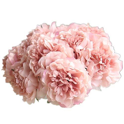 Fiori finti,centrotavola matrimonio fiori artificiali bouquet fiori giganti ortensia peonia composizioni floreali nozze decorazioni per casa cucina giardino festa