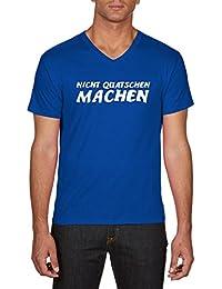 Touchlines Herren T-Shirts Nicht Quatschen Machen