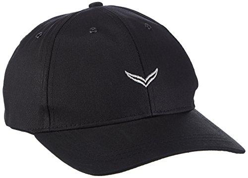 Trigema Herren Baseball Cap 600005, One Size, Schwarz (schwarz 008)