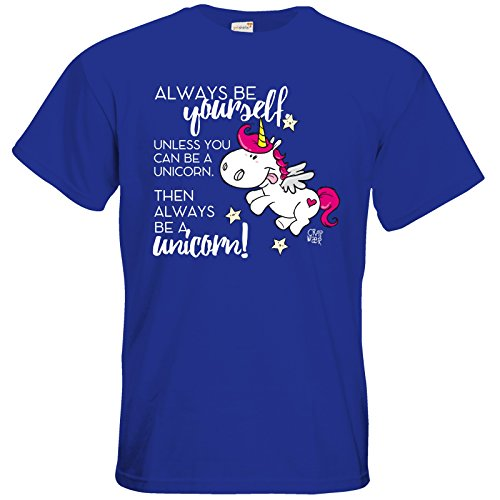 getshirts - Crapwaer - T-Shirt - Regenbogenpony Royal Blue