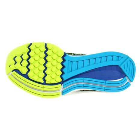 Nike Herren Air Zoom Structure 19(4e) Laufschuhe Black (Black (schwarz / reines Platin-Volt-blaue Lagune))