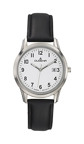 Dugena Classic Gents Watch Quartz Watch With Leather Strap  4460309