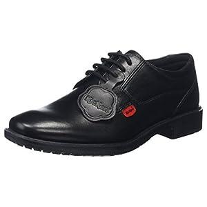 Kickers Chreston Lace MTO Lthr Ym, Zapatos de Cordones Derby para Niños