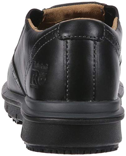 Timberland PRO Men s Boldon Slip on Alloy Toe SD  Industrial Shoe  Black Full Grain Leather  11 M US