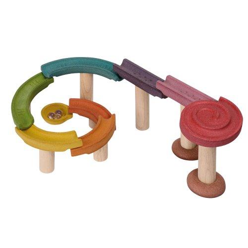 Plan Toys - Circuito para Coche, Juego de Bloques (5642)
