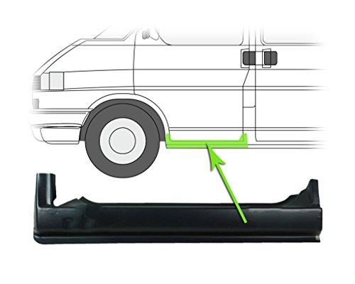 Preisvergleich Produktbild Reparaturblech Schweller Einstiegsblech Unter Der Tür Vorne Links VW Transporter T4 90-03