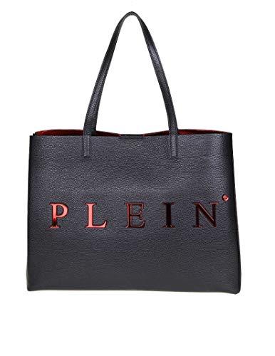 Philipp Plein Femme Wba0834pco011n02 Noir Cuir Sac Tote
