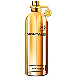 Montale Pure Gold 100ml/3.33oz Eau De Parfum Spray Perfume Fragrance for Women