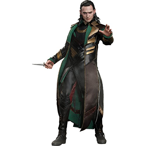 Loki Kostüm Thor - Hot Toys Maßstab 1: 6 Loki/Thor The Dark World Figur