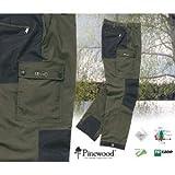 Pinewood Lappland Extreme Hose - Material TC 1200 - Größe C 60 - Farbe Grün-Schwarz