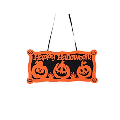 danmei House Escape Dekoartikel für Halloween Horror Haunted Hexe Requisiten Halloween zum Aufhängen Pirat Hexe Gefangene Reaper Ghost, Papier, 9#, 22x46cm