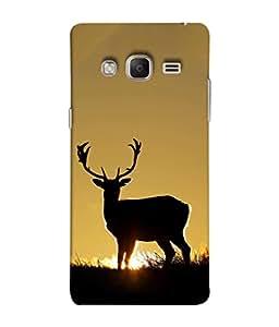 Fuson Designer Back Case Cover for Samsung Galaxy Z3 Tizen :: Samsung Z3 Corporate Edition (Robot Circles Dots Machinery )