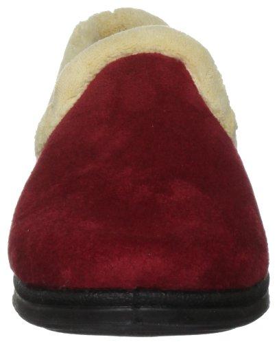 Padders Repose, Damen Hausschuhe Rot (Rot)