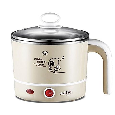 LIUYU Mini-cuisinière électrique portable pour cuisinière à cuire Riz et nourriture à la vapeur (Khaki),Kaki