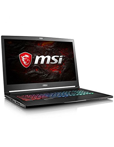 MSI GS73VR 7RG-012FR Stealth Pro 4K Ordinateur Portable Hybride 17,3″ Noir (Intel Core i7, 16 Go de RAM, 2 To, GeForce GTX 1070, 8 Go GDDR5, Windows 10 Home)