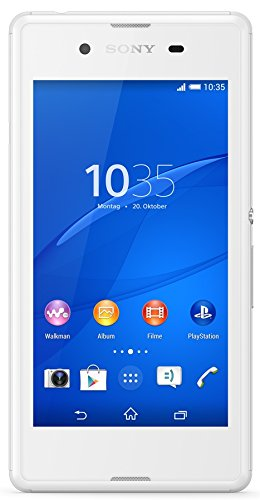 Image of Sony Xperia E3 Smartphone (11,4 cm (4,5 Zoll) IPS-Display, 1,2 GHz-Quad-Core-Prozessor, 5 Megapixel-Kamera, Android 4.4) weiß