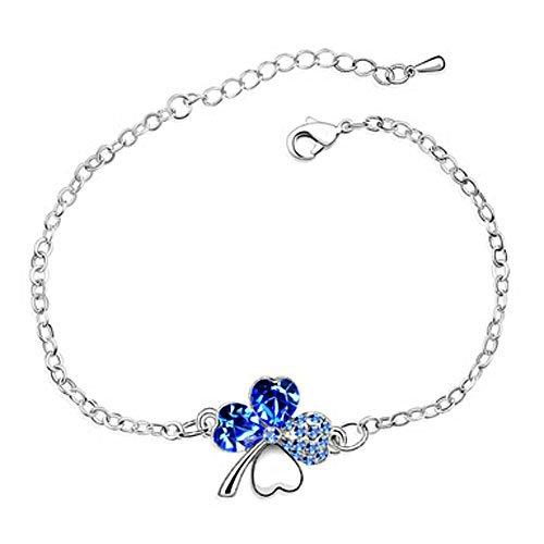 rarelove-swarovski-elements-sapphire-crystal-gold-plated-four-leaf-clover-bracelet
