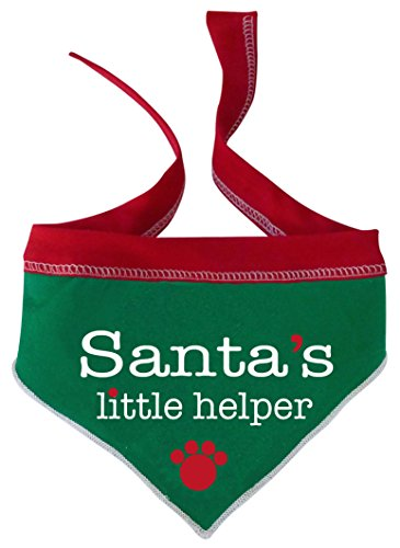 re3grün Santa 's Helper Pet Bandana Schal, klein (Santas Helfer Kostüme)