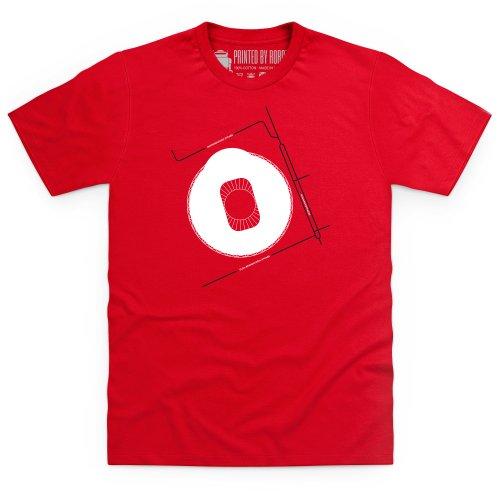 BayArena T-Shirt, Herren Rot