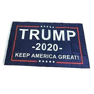 Für Trump 2020 Flagge Doppelseitig Gedruckt Für Donald Trump Flagge Keep America Great Donald Für Präsident USA - Blau