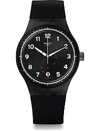 Swatch Sistem Gentleman Herren-Armbanduhr Analog Automatik Silikon SUTF400