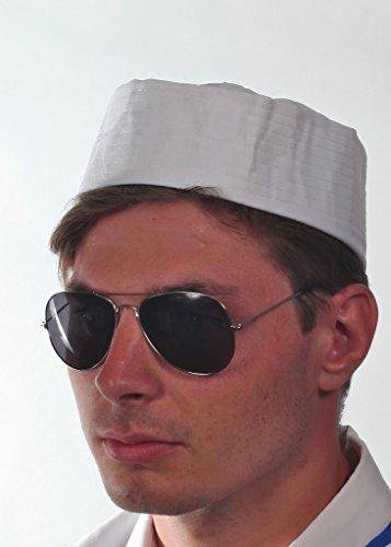 Hut Matrose Uni Kapitän Sailor Kostüm Hut Partyhut (Captian Hat)