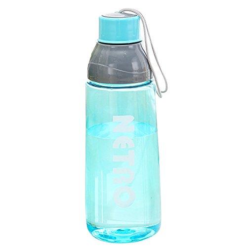 Ceally Tragbare Reise-Sport-Tee-Wasser-Siegel-Flasche 800ml Reise-Flasche Sport Wasserflasche Thermoflasche Thermoskanne Water Bottle Doppelwandig Vakuum Flasche Sportflasche Auslaufsichere (Blau)