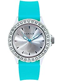 OMAX Silver Dial Analogue Watch for Girls (TS479)